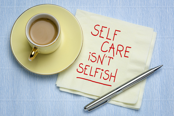 Selfcare isnt selfish - Leading your team out of lockdown