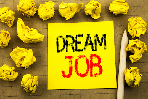 Dream job - Happy at Work? You can be