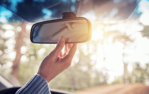 rearview mirror - Happy at Work? You can be
