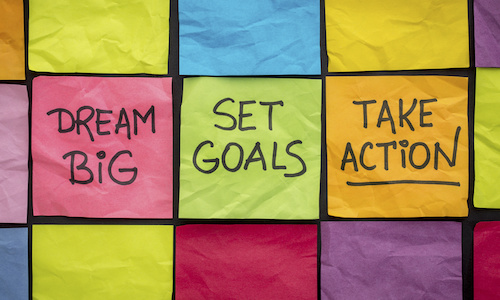 Dream big set goals take action - How to learn from 2020 – reflect, draw insights and set your intentions for 2021